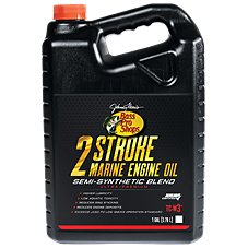 Bass Pro Shops 2-Stroke Marine Engine Oil Semi-Synthetic Blend Image