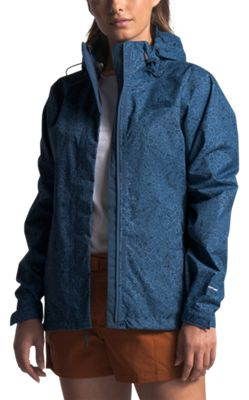 The North Face Venture 2 Jacket for Ladies - Shady Blue Floral Block Print - XL