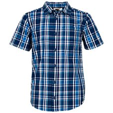 Bass Pro Shops Plaid Button-Down Short-Sleeve Shirt for Toddlers or Boys