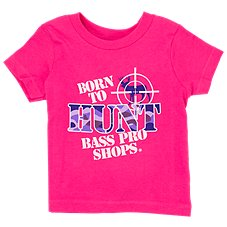 Bass Pro Shops Born to Hunt Short-Sleeve T-Shirt for Babies Image