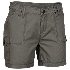 Natural Reflections Cotton-Canvas Cargo Shorts for Ladies