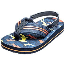 Outdoor Kids Starfish Flip Thong Sandals for Toddlers Image