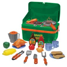 Nature Bound Cookout Camp Stove with Play Utensils and Play Food