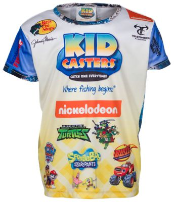 Bass Pro Shops Kid Casters Fishing Short-Sleeve Shirt for Toddlers or Boys