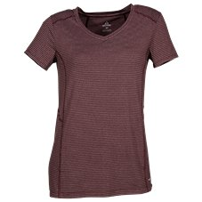 Ascend Striped Short-Sleeve Performance T-Shirt for Ladies Image