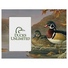 Ducks Unlimited Colors of Fall Wood Picture Frame