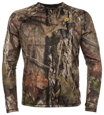 Blocker Outdoors Scentblocker Underguard Base Top for Men - Mossy Oak Break-Up Country - S thumbnail