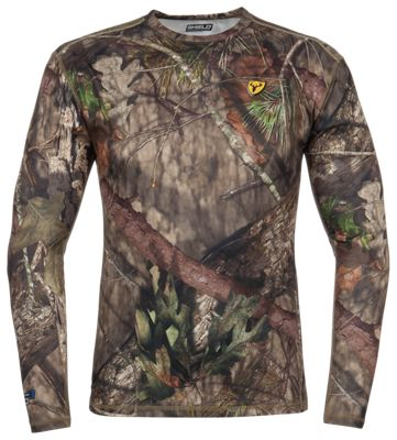 Blocker Outdoors Shield Series Angatec Performance Long-Sleeve Shirt for Men - Mossy Oak Break-Up Country - 2XL thumbnail