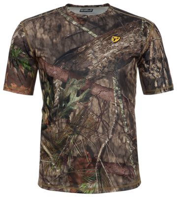 Blocker Outdoors Shield Series Angatec Performance Short-Sleeve Shirt for Men - Mossy Oak Break-Up Country - 3XL thumbnail