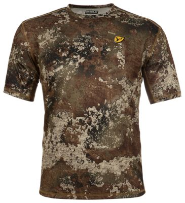 Blocker Outdoors Shield Series Angatec Performance Short-Sleeve Shirt for Men - TrueTimber Strata - L thumbnail