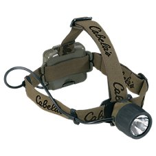 Cabela's Alaskan Guide XG Headlamp by Princeton Tec with White/Green LEDs