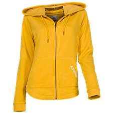 Ascend Washed Out Long-Sleeve Zip Hoodie for Ladies Image