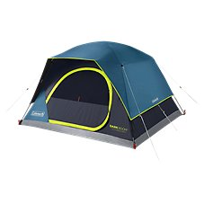 Coleman Dark Room Skydome 4-Person Camping Tent Image