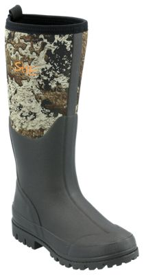 SHE Outdoor Camo Utility Waterproof Rubber Boots for Ladies – TrueTimber Strata – 7M