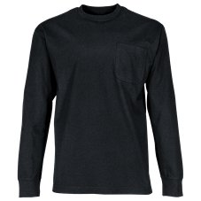RedHead Crew-Neck Long-Sleeve Pocket T-Shirt for Men Image