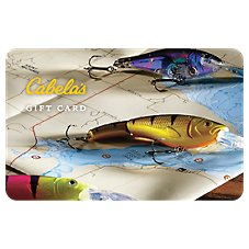 Cabela's Map Lures Gift Card Image