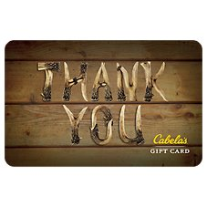 Cabela's Thank you Antlers Gift Card Image