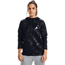 Under Armour Camo Shine Long-Sleeve Hoodie for Ladies
