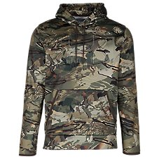 Under Armour Armour Fleece Camo Embossed Long-Sleeve Hoodie for Men Image