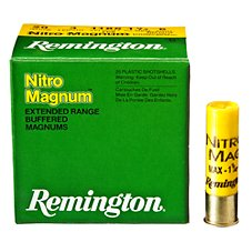 Remington Nitro Mag Buffered Magnum Shotshells