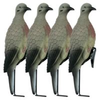Lucky Duck Clip-On Dove Decoys with Stakes
