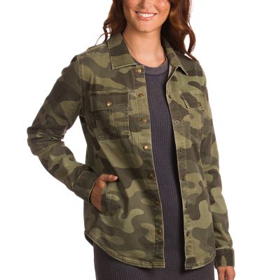 Natural Reflections Camo Jacket for Ladies – Camo – 2X