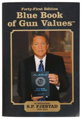 Image of Blue Book of Gun Values 41st Edition