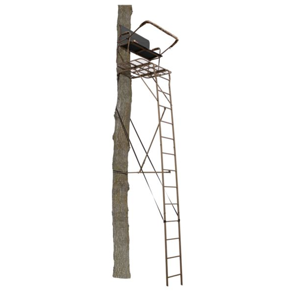 API Outdoors Ultra-Steel Deluxe 18' Two-Person Ladder Stand thumbnail