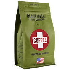 Black Rifle Coffee Company Coffee Saves Vintage Roast Ground Coffee Image