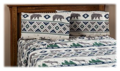 White River Forest Friends Flannel Sheet Set Cabela S