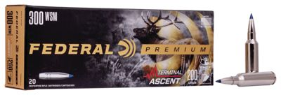 Federal Premium Terminal Ascent Big Game Centerfire Rifle Ammo
