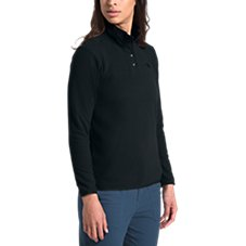 The North Face TKA Glacier Snap-Neck Long-Sleeve Pullover for Ladies Image