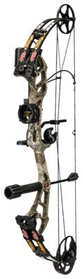 PSE Archery Stinger Max RTS Compound Bow Package - 28-70 lbs - Left Hand thumbnail