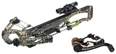 Image of Barnett Whitetail Hunter Pro Crossbow Package with Crank Cocking Device