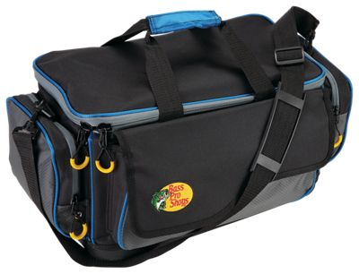 Bass Pro Shops Pro Guide Tackle Bag – Bag with Four 3650 Boxes – Bag with Four 3750 Boxes