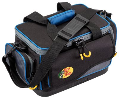 Bass Pro Shops Pro Guide Tackle Bag – Bag with Four 3650 Boxes