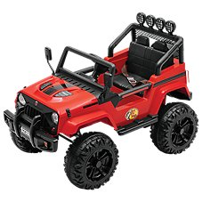 Bass Pro Shops 12V Powersport Trail Thunder Ride-On Truck for Kids Image