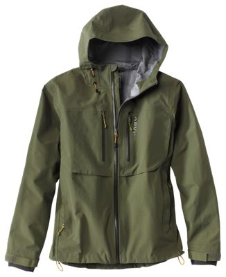 Orvis Clearwater Wading Jacket for Men - Moss - L