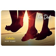 Cabela's Father's Day Gift Card Image
