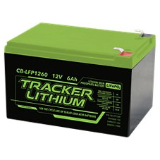 Tracker 12V Lithium Ion Phosphate Accessory Battery Image