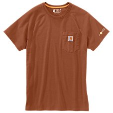 Carhartt Force Relaxed Midweight Short-Sleeve Pocket T-Shirt for Men Image