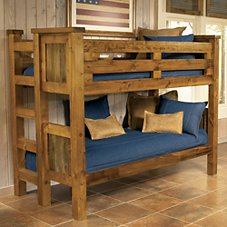 Mountain Woods Furniture Wyoming Collection Bunk Beds