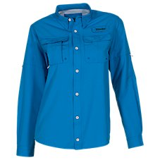 World Wide Sportsman Angler Woven Long-Sleeve Button-Down Fishing Shirt for Boys