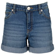 Outdoor Kids Denim Shorts for Toddlers or Girls Image
