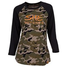 SHE Outdoor Baseball T-Shirt for Ladies Image