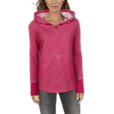 Natural Reflections Burnout Long-Sleeve Hoodie for Ladies Image
