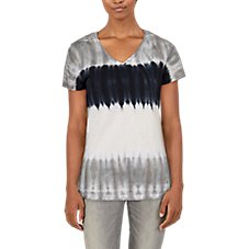 Natural Reflections Tie-Dye Short-Sleeve T-Shirt for Ladies Image