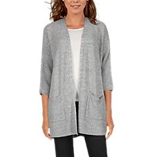 Natural Reflections Weekender Recycled Cardigan for Ladies Image