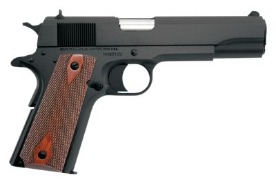Colt 1991 Government Model Semi-Auto Pistol with Blued Finish by