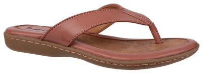 B.O.C. Zita Toe Post Sandals for Ladies Blush 10M
